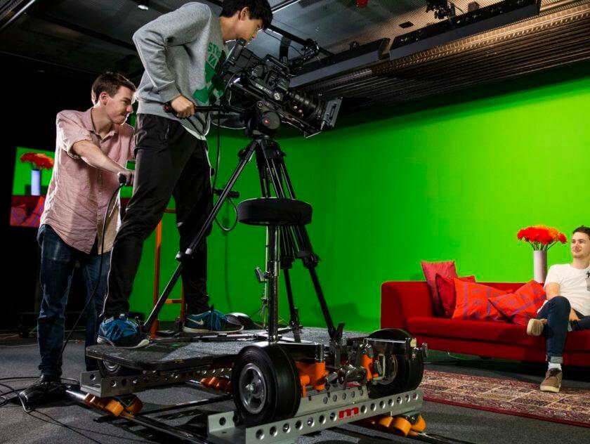 SAE film students